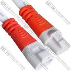 Разъёмы пыленепроницаемые IP60 3pin, с кабелем, белые