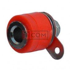 Гнездо акустическое Banan TCOM, монтажное, корпус пластик, красное