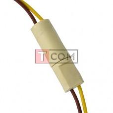Разъём автомобильный TCOM, 2-х контактный, с кабелем