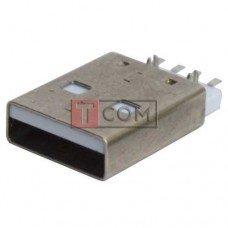 Штекер USB TCOM,  тип A, монтажный