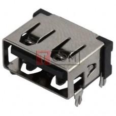 Гнездо USB тип A, 90°, TCOM, монтажное (Тип 2)