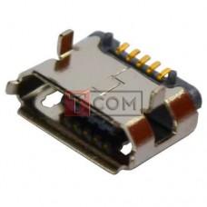 Гнездо micro USB TCOM, монтажное