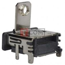 Гнездо HDMI TCOM монтажное, PCB тип