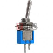 Тумблер SMTS-101 (ON-OFF) TCOM, 2pin, 1.5A 250VAC