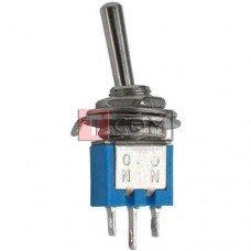 Тумблер SMTS-102 (ON-ON) TCOM, 3pin, 1.5A 250VAC