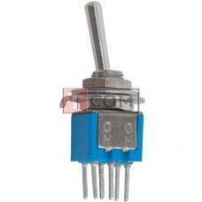 Тумблер SMTS-202-A2 (ON-ON) TCOM, 6pin, 1.5A, 250VAC