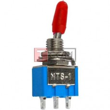 Тумблер MTS-103 (ON-OFF-ON) TCOM, 3pin, 3A 250VAC