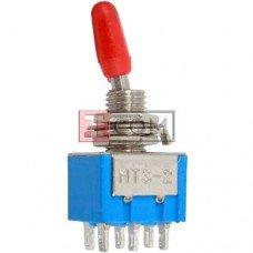 Тумблер MTS-202 (ON-ON) TCOM, 6pin, 3A 250VAC
