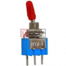 Тумблер MTS-102-А2 (ON-ON) TCOM, 3pin, 3A, 250VAC