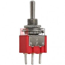 Тумблер MTS-103-А2 (ON-OFF-ON) TCOM, 3pin, 3A, 250VAC