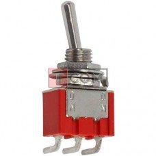 Тумблер MTS-102-C3 (ON-ON) TCOM, 3pin, 3A, 250VAC