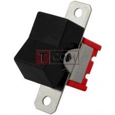 Тумблер с клавишей RLS-102-А1 (ON-ON) TCOM, 3pin, 3A, 250VAC, чёрный