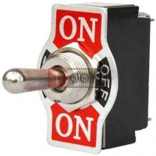 Тумблер KN3(B)-123A (ON)-OFF-(ON) TCOM, 3pin, 10A, 250VAC