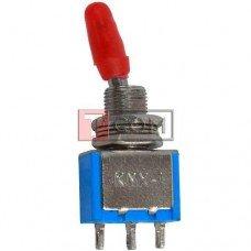 Тумблер KNХ-103-D1 (ON-OFF-ON) TCOM, 3pin, 10А, 250VAC