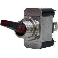 Тумблер с подсветкой ASW-07D-2 ON-OFF TCOM, 3pin, 12V, 30А
