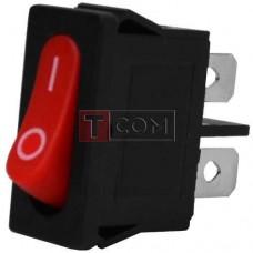 Переключатель MRS-101-5С3 ON-OFF, 2pin, 8A, 220V, красный