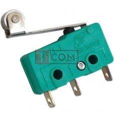 Микропереключатель с роликом MSW-13 ON-(ON) TCOM, 3pin, 5A, 125/250VAC