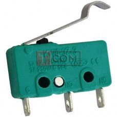Микропереключатель с лапкой MSW-14 ON-(ON) TCOM, 3pin, 5A, 125/250VAC