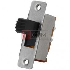 Переключатель движковый KBB40-2P2W ON-ON TCOM, 6pin, 0.5A, 250VAC