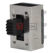 Переключатель движковый KBB45-2P2W ON-ON TCOM, 6pin, 0.5A, 250VAC