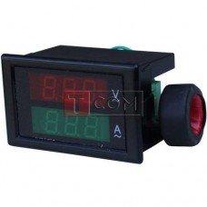 Вольтметр встраиваемый РМ85 (напряжение и ток)