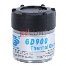 Термопаста GD900 (4.8 Вт/мК) 30г, банка, серая
