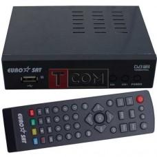 Ресивер DVB-T2 (чипсет MSTAR 7T01), EuroSat, металлический корпус