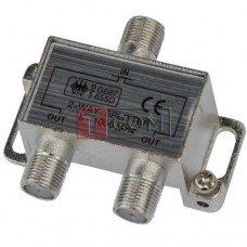 Сплиттер (Splitter) ТВ TCOM, 2-way 5-1000MHZ, корпус металлический