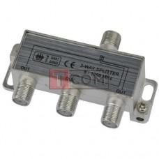 Сплиттер (Splitter) ТВ TCOM, 3-way 5-1000MHZ, корпус металлический
