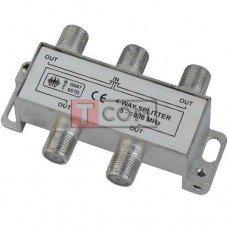 Сплиттер (Splitter) ТВ TCOM, 4-way 5-1000MHZ, корпус металлический