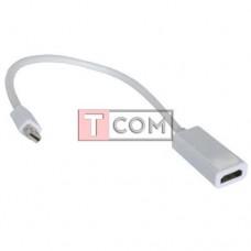 Переходник TCOM, штекер mini Display Port - гнездо HDMI