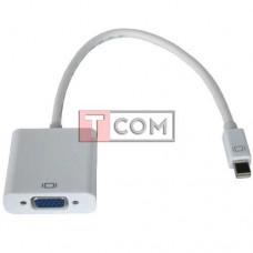 Переходник TCOM, штекер mini Display Port - гнездо VGA