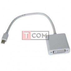 Переходник TCOM, штекер mini Display Port - гнездо DVI