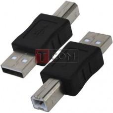 Переходник USB TCOM, штекер А - штекер В