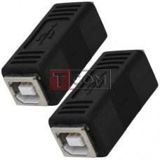 Переходник USB TCOM, гнездо В - гнездо В