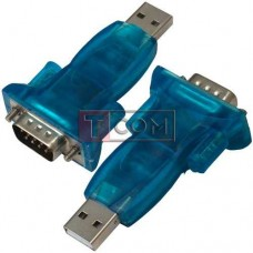Переходник CBR USB - RS232 TCOM, штекер USB - штекер RS232