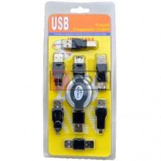 Набор USB TCOM (удлинитель USB A, 6 переходников USB) в блистере