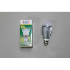 Лампочка светодиодная 220В, 7Вт, алюминиевый корпус, натуральный свет