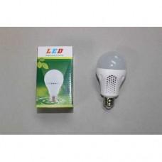 Лампочка светодиодная, 220В, 7Вт, Е27, алюминиевый корпус, натуральный свет