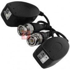 Одноканальный пассивный видео трансивер TCOMдля CCTV камер видеонаблюдения, 2шт (Тип 2)
