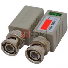 Одноканальный пассивный видео трансивер TCOMдля CCTV камер видеонаблюдения, 2шт (Тип 3)