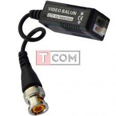 Видео балун для CCTV камер видеонаблюдения TCOM, с кабелем, 400-600м, в блистере, 2шт