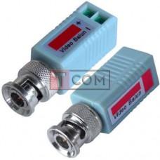 Видео балун для CCTV камер видеонаблюдения TCOM, 400-600м, 2шт