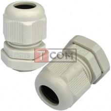 Пластиковый кабельный ввод TCOM, 6-12мм, PG-13.5
