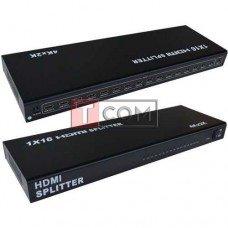 Сплиттер 16 port HDMI, 1 гнездо HDMI - 16 гнезд HDMI, 1.4V, DC-5V