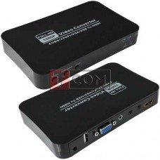 Конвертор TCOM AV+RGB+VGA+USB в HDMI (MT-PC401)