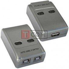 Разветвитель MT-VIKI USB A на 2 гнезда USB B (MT-SW221)