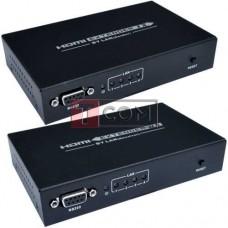 Удлинитель HDMI по витой паре с роутером TCOM (sender + receiver) GC-374