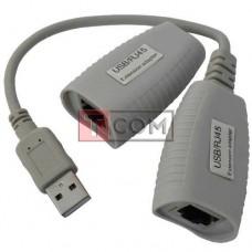 Удлинитель USB до 50м TCOM, MT-150FT