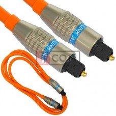 Шнур оптический, toslink plug- toslink plug TCOM, Hi-Fi, металл, в блистере,с фильтром, 1м